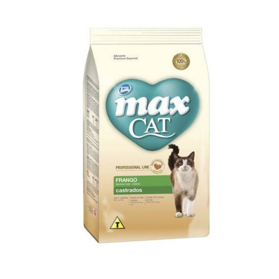 MAX FELINO CASTRADOS 3 KG
