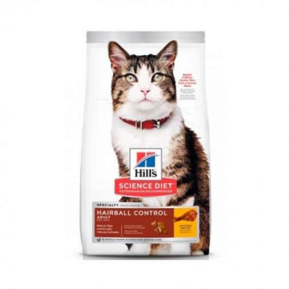 HILL´S ADULTO HAIRBALL CONTROL 3.5LB