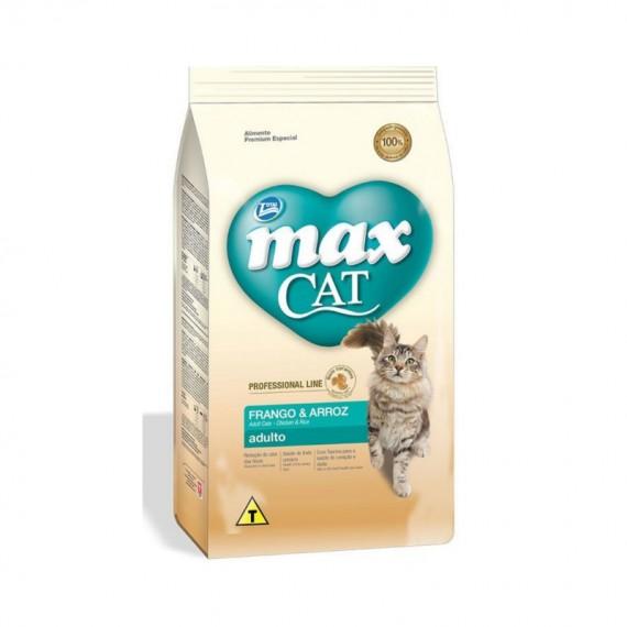 MAX CAT FRANGO Y ARROZ 1KG