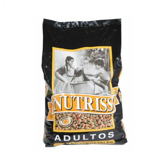 NUTRISS ADULTO POLLO Y VEGETALES 1 KG