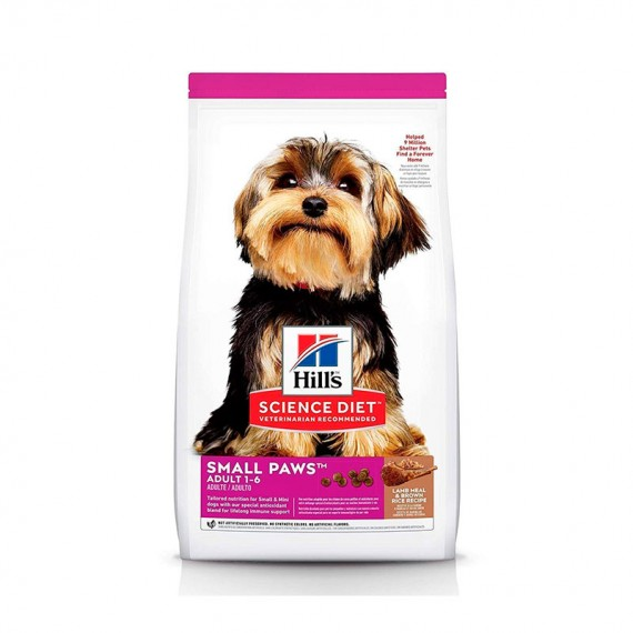 HILL`S ADULT SMALL PAWS L&R 4,5 LB