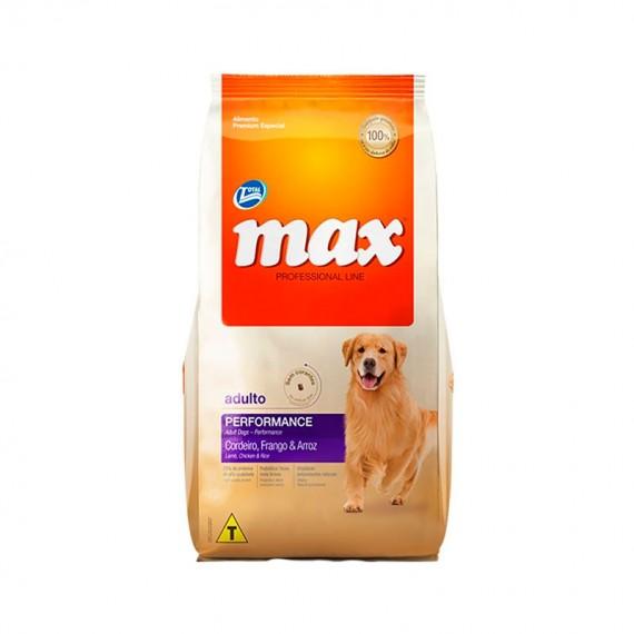 MAX ADULTO PERFORMANCE 20 KG