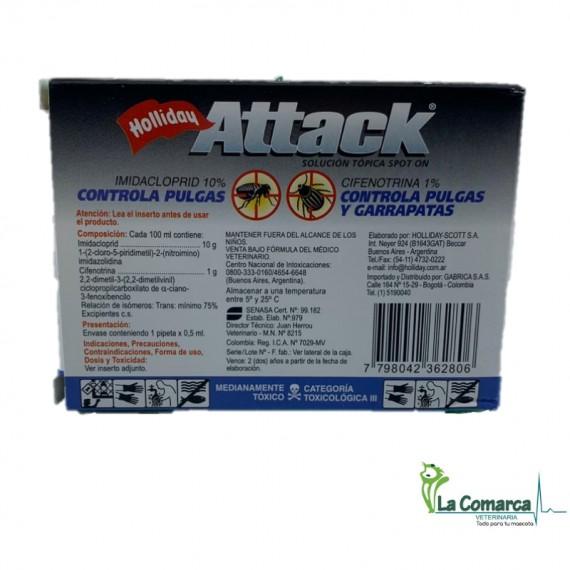 ATTACK PERROS 0.5ML